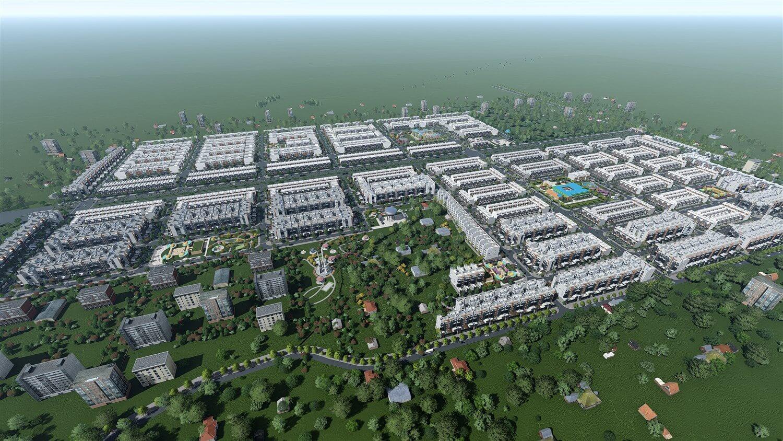 Dự án khu dân cư Đại Nam Chơn Thành Bình Phước